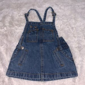Baby jean dress